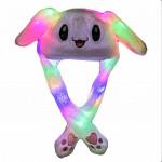 Шапка пикчу  двигающиеся ушами светящиеся (H-50)